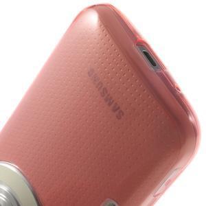 Gelové Ultraslim pouzdro na Samsung Galaxy K Zoom- červené - 6