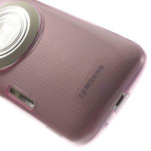 Gelové Ultraslim pouzdro na Samsung Galaxy K Zoom- růžové - 6