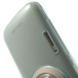 Gelové Ultraslim pouzdro na Samsung Galaxy K Zoom- světlemodré - 6