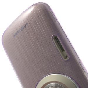 Gelové Ultraslim pouzdro na Samsung Galaxy K Zoom- fialové - 6