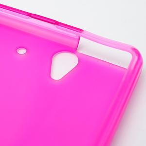 Gelové pouzdro na Sony Xperia Z L36i C6603- růžové - 6