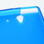 Gelové pouzdro na Sony Xperia Z L36i C6603- modré - 6/7