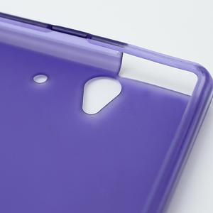 Gelové pouzdro na Sony Xperia Z L36i C6603- fialové - 6