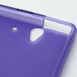 Gelové pouzdro na Sony Xperia Z L36i C6603- fialové - 6/7