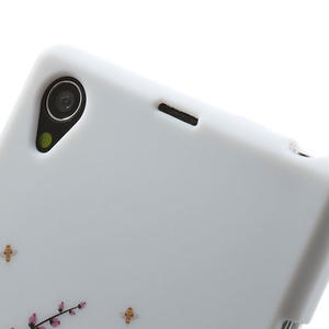Gelové pouzdro na Sony Xperia Z1 C6903 L39- kvetoucí větvička - 6