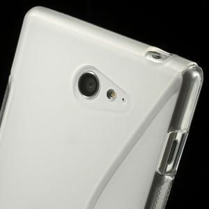 Gelové S-line pouzdro na Sony Xperia M2 D2302- transparentní - 6