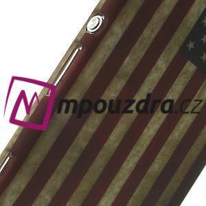 Gelové pouzdro na Sony Xperia M2 D2302 - USA vlajka - 6