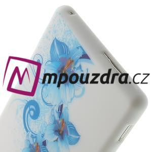 Gelové pouzdro na Sony Xperia M2 D2302 - modrá lilie - 6