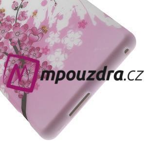 Gelové pouzdro na Sony Xperia M2 D2302 - kvetoucí větvička - 6