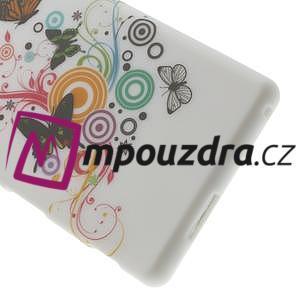Gelové pouzdro na Sony Xperia M2 D2302 - barevní motýlci - 6