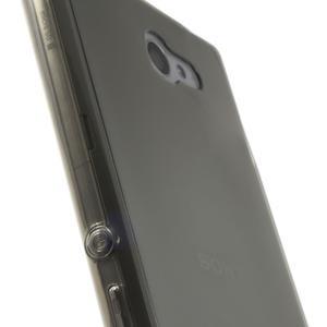 Gelové Ultraslim pouzdro na Sony Xperia M2 D2302- šedé - 6
