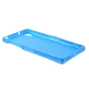 Gelové matné pouzdro na Sony Xperia Z2 D6503- modré - 6