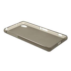 Gelové matné pouzdro na Sony Xperia Z2 D6503- šedé - 6