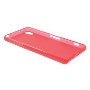 Gelové matné pouzdro na Sony Xperia Z2 D6503- červené - 6