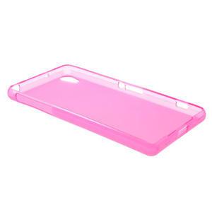 Gelové matné pouzdro na Sony Xperia Z2 D6503- růžové - 6