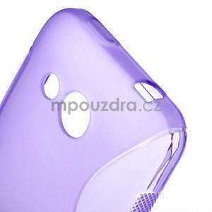Gelové S-line pouzdro pro HTC Desire 200- fialové - 6
