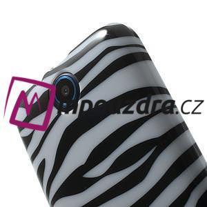 Gelové pouzdro na HTC Desire 310- zebrované - 6