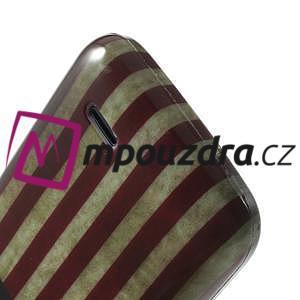 Gelové pouzdro na HTC Desire 310- USA vlajka - 6