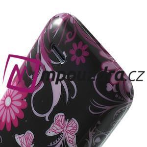 Gelové pouzdro na HTC Desire 310- motýlci - 6