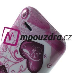 Gelové pouzdro na HTC Desire 310- dvě srdce - 6