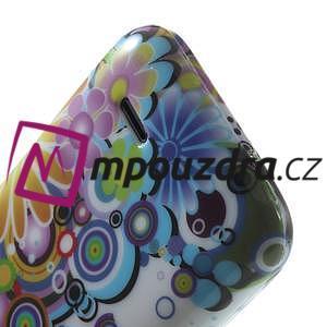 Gelové pouzdro na HTC Desire 310- barevné květy - 6