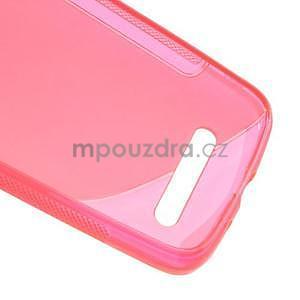 Gelové pouzdro pro HTC Desire 500- růžové - 6