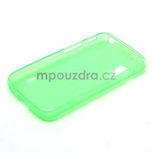 Matné gelové pouzdro pro LG Optimus L5 Dual E455- zelené - 6