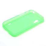 Matné gelové pouzdro pro LG Optimus L5 Dual E455- zelené - 6/6
