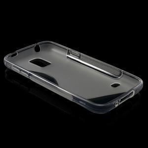 Gelové S-line pouzdro na Samsung Galaxy S5 mini G-800- transparentní - 6