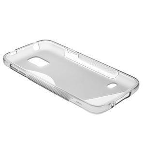 Gelové S-line pouzdro na Samsung Galaxy S5 mini G-800- šedé - 6