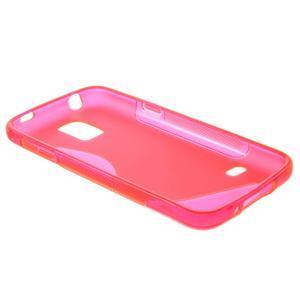 Gelové S-line pouzdro na Samsung Galaxy S5 mini G-800- růžové - 6