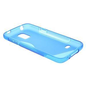 Gelové S-line pouzdro na Samsung Galaxy S5 mini G-800- modré - 6