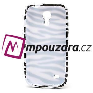 Gelové pouzdro pro Samsung Galaxy S4 mini i9190- bílá zebra - 6