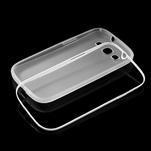 Gelové rámované pouzdro na Samsung Galaxy S3 i9300- transparentní - 6/6