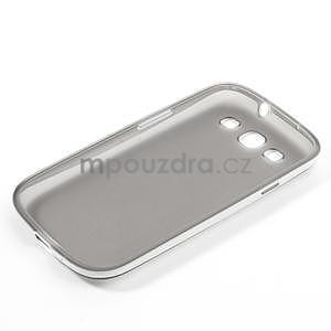 Gelové rámované pouzdro na Samsung Galaxy S3 i9300- šedé - 6