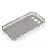 Gelové rámované pouzdro na Samsung Galaxy S3 i9300- šedé - 6/7