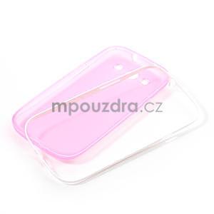 Gelové rámované pouzdro na Samsung Galaxy S3 i9300- růžové - 6