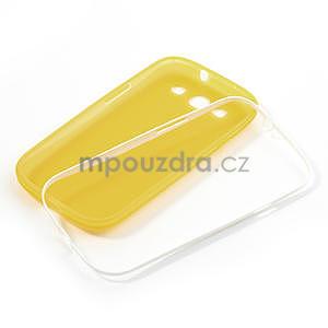 Gelové rámované pouzdro na Samsung Galaxy S3 i9300- žluté - 6