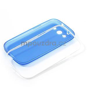 Gelové rámované pouzdro na Samsung Galaxy S3 i9300- modré - 6