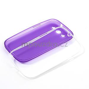 Gelové rámované pouzdro na Samsung Galaxy S3 i9300- fialové - 6