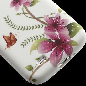 Gelové pouzdro pro Samsung Galaxy S4 i9500- kvetoucí květ - 6