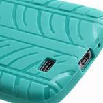 Gelové PNEU pouzdro pro Samsung Galaxy S4 i9500- zelené - 6/7