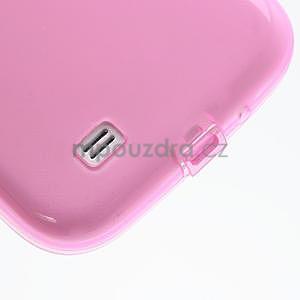 Gelové slim pouzdro na Samsung Galaxy S4 i9500- růžové - 6