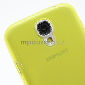 Gelové slim pouzdro na Samsung Galaxy S4 i9500- žluté - 6