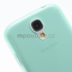 Gelové slim pouzdro na Samsung Galaxy S4 i9500- zelené - 6