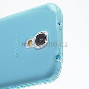 Gelové slim pouzdro na Samsung Galaxy S4 i9500- modré - 6