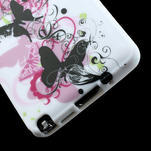 Gelové pouzdro na Samsung Galaxy Note 3- květinka motýl - 6/6