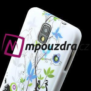 Gelové pouzdro na Samsung Galaxy Note 3- květiny - 6