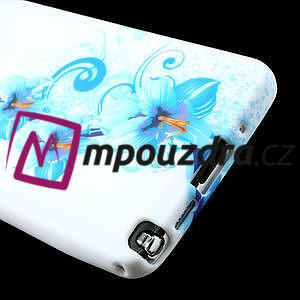 Gelové pouzdro na Samsung Galaxy Note 3- modrá lilie - 6