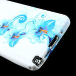 Gelové pouzdro na Samsung Galaxy Note 3- modrá lilie - 6/6